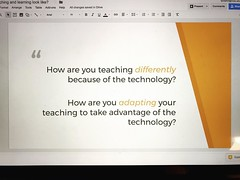 Had an awesome table talk today with a district's administrators. They are committed to supporting their teachers on this new digital teaching and learning journey. I'm so inspired by them and their desire to serve their students and staff. And tomorrow w