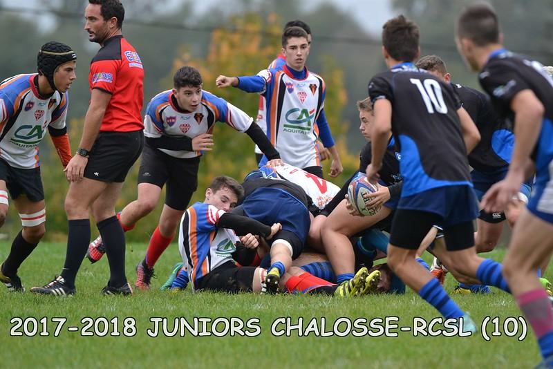 2017-2018 JUNIORS CHALOSSE - RCSL
