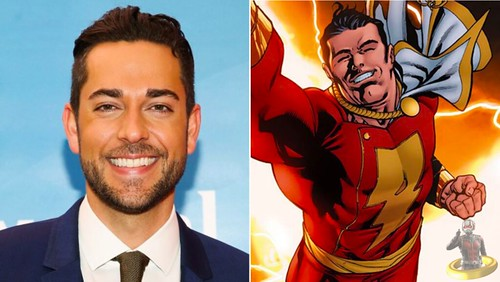 Zachary Levi Cast as Shazam!