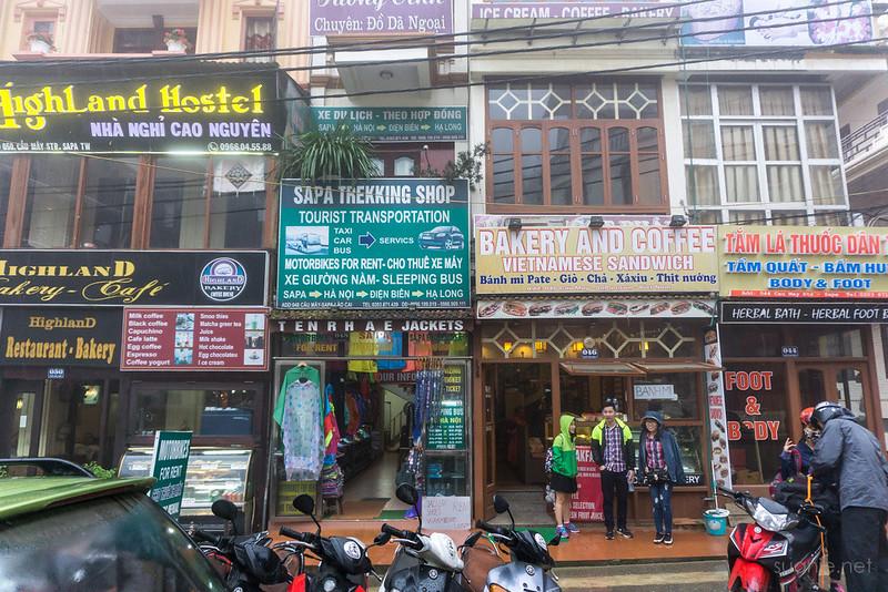 Sapa, Vietnam - shops
