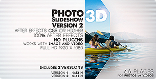 Photo slideshow 3D Version 2
