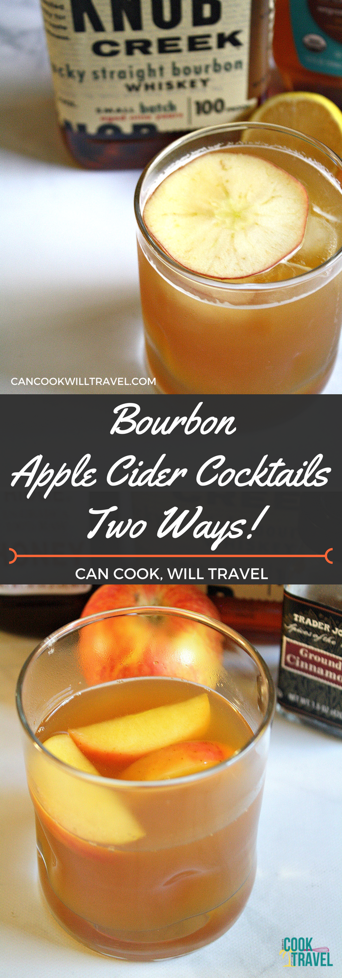 Bourbon Apple Cider Cocktails Two Ways_Collage1