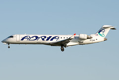 S5-AAW  Adria Airways Bombardier CRJ-702 (CL-600-2C10)