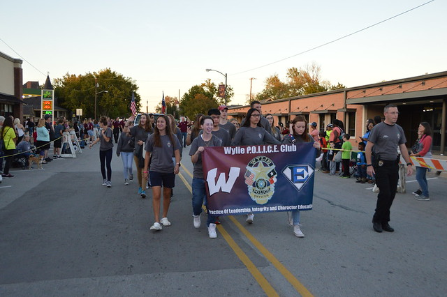 Wylie High Homecoming Parade