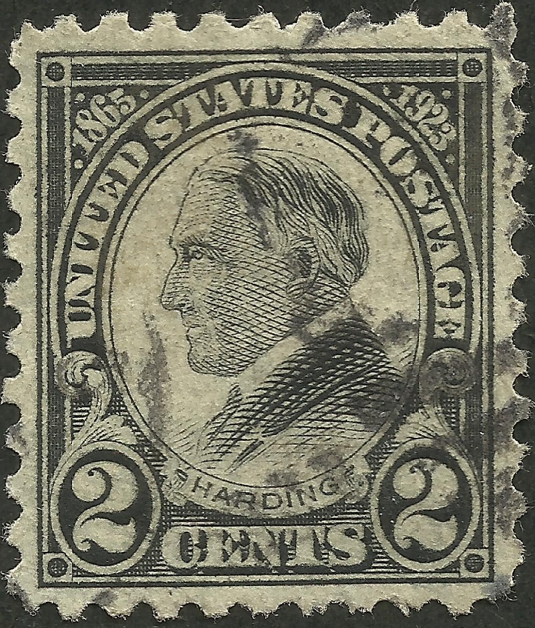 United States - Scott #610 (1923)