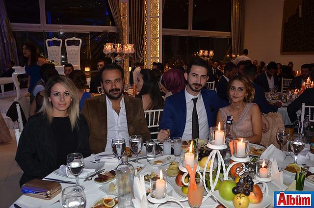 Melike Aydın, Fatih Durmaz, Ahmet Yıldız, Gül Arıcan