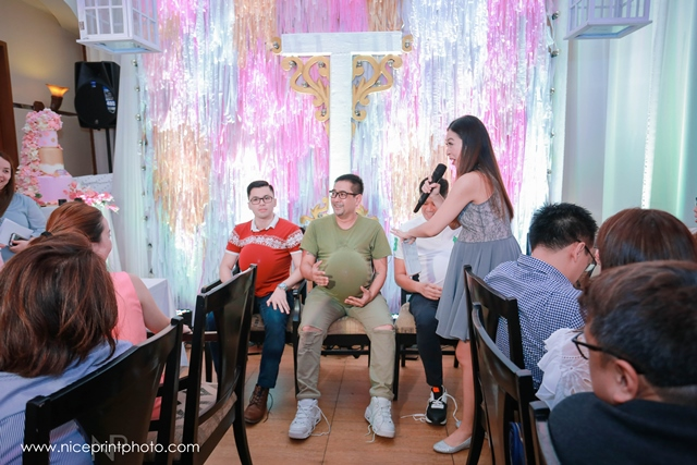 pauleen luna pretty in pink baby shower games