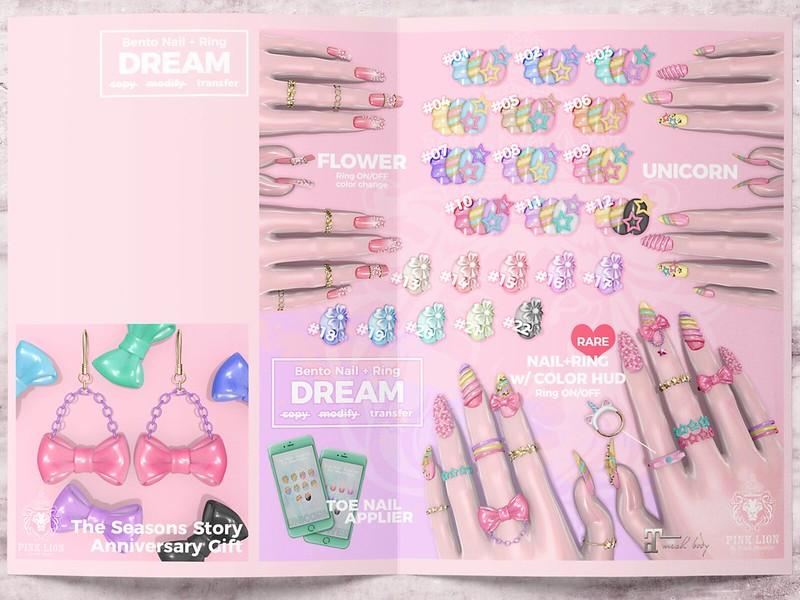 bento nail ♥ DREAM