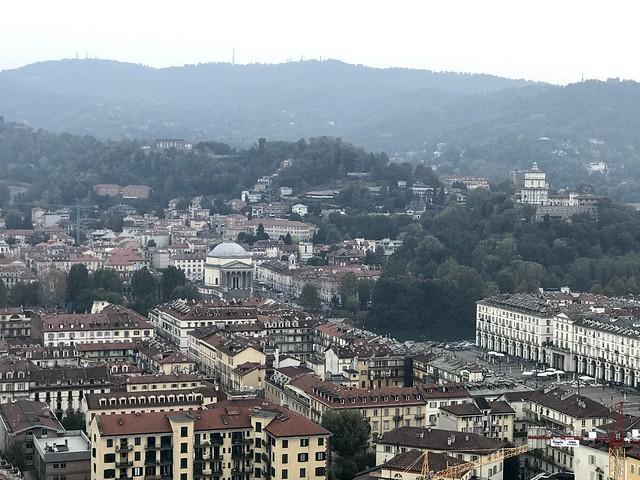 Torino from the National Cinema Museum