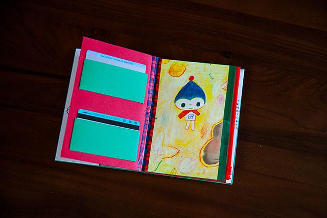 母子手帳ケース手作り