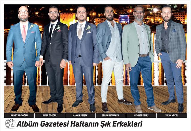Ahmet Abitoğlu, Baha Gökgül, Hakan Şimşek, İbrahim Türker, Mehmet Keleş, Sinan Yücel