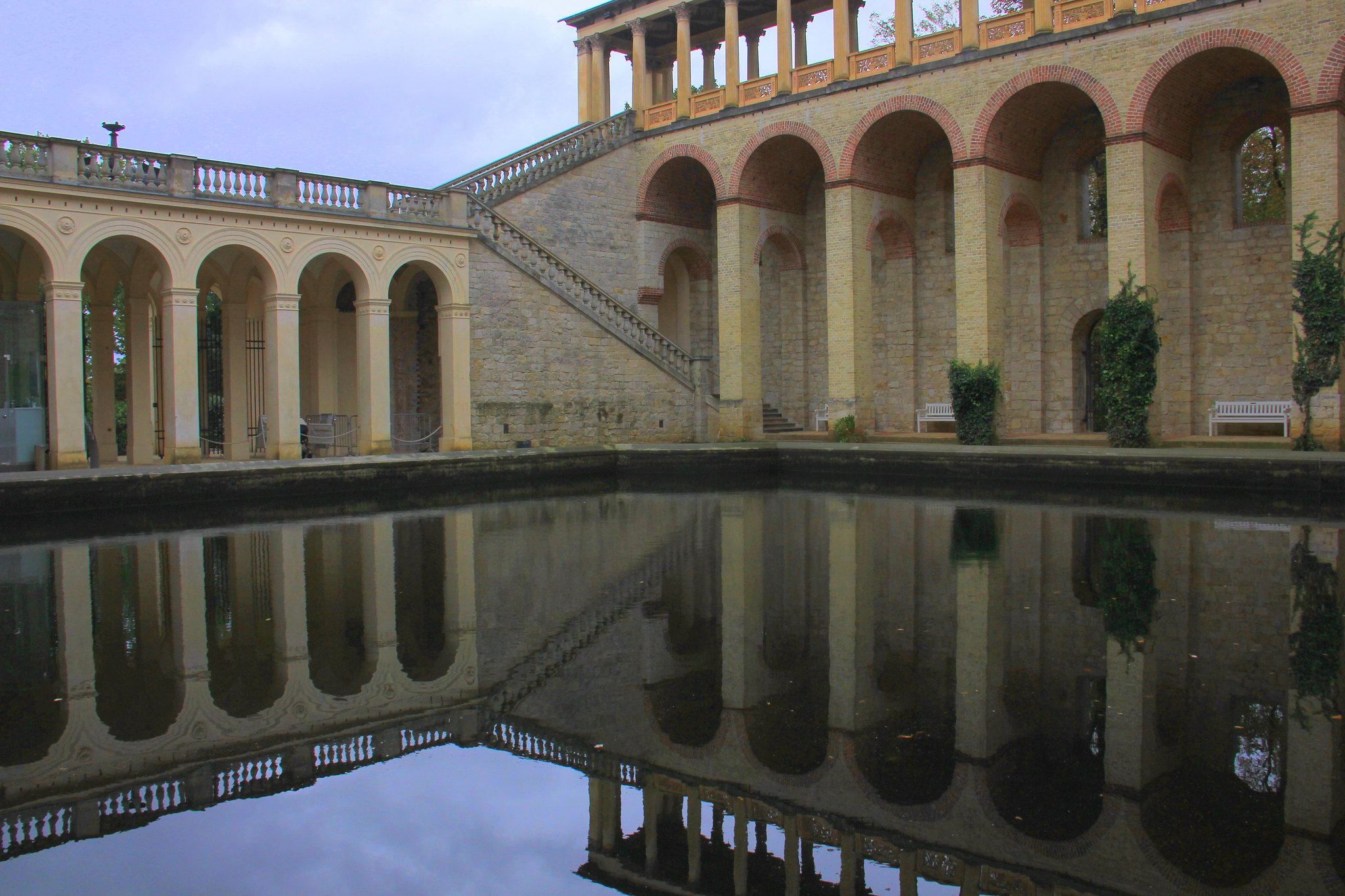 Belvedere is one of the loveliest buildings of Potsdam