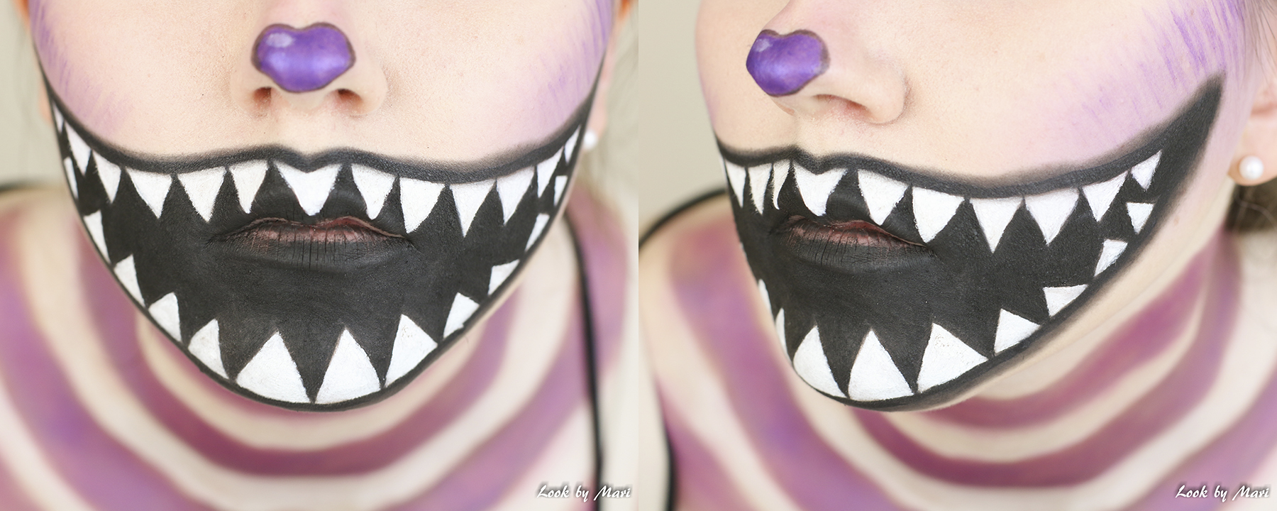 12 halloween makeup ideas scary easy quick colorful 2017 tutorial