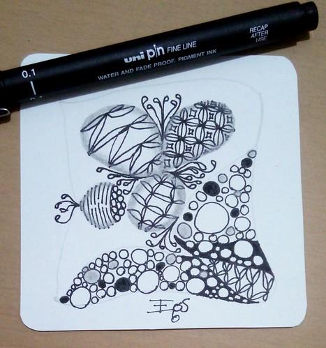 Dia 12 do livro Desenho Zen