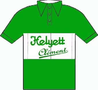 Helyett Clement - Giro  d'Italia 1950