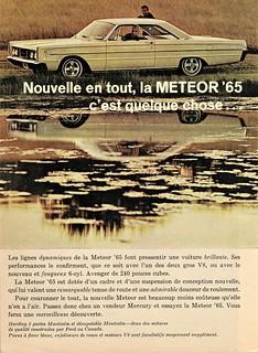 1965 Meteor Montcalm 2-Door Hardtop