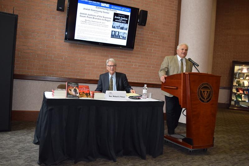 A Talk with Judge Michael A. Ponsor