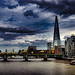 Architecture Tower Sky Cloud - Sky Built Structure Travel Destinations Skyscraper Urban Skyline Travel City Building Exterior Storm Cloud Cityscape No People Water Outdoors Day Shard London Shard London Bridge Tower Bridge  Tower Bridge🌉 L