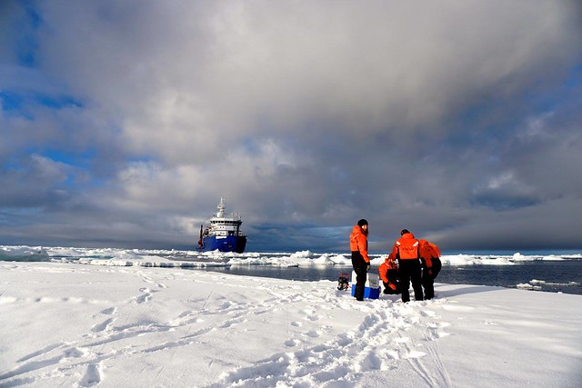 photo of arctic research