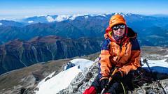 Wysokość 4550m - Monika czuje się słabo, musimy zawrócić.