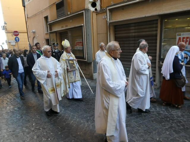 Religious Procession in Frascati