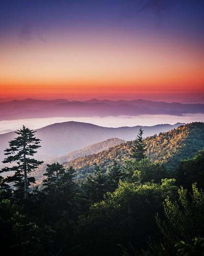 Smoky Mountain Sunrise. Photographer Dan Price
