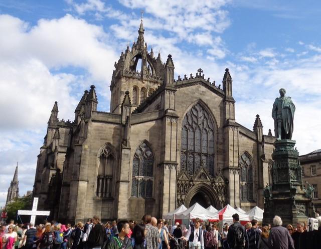 Catedral de St Giles - Un día en Edimburgo