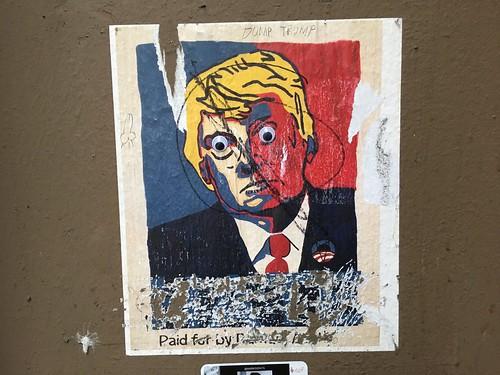 Dump Googly Eyes Trump