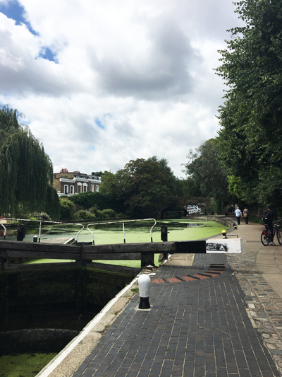 Regents Canal Biking