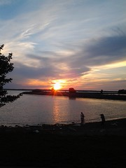 Evening at Wilkeson Pointe - Always dramatic skies in western NY - Aug 2017