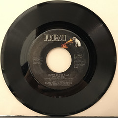 DARYL HALL & JOHN OATES:I CAN'T GO FOR THAT(NO CAN DO)(RECORD SIDE-A)