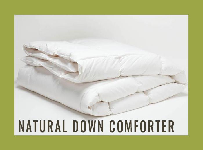 Natural Down Comforter