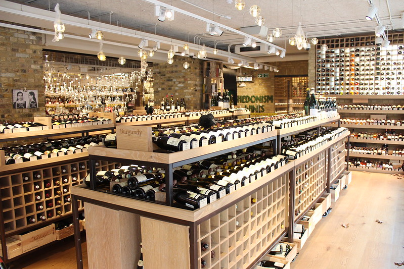 Hedonism Wines, London / etdrysskanel.com