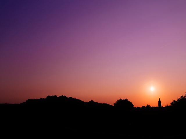 Sunset, Panasonic DMC-G7, LUMIX G VARIO 12-35mm F2.8