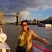 Wenji and London Tower Bridge