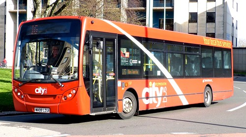 WA08 LDJ 'Plymouth citybus' No. 137 'city' Dennis Dart SLF / Alexander Dennis Ltd. Enviro 200 on 'Dennis Basford's railsroadsrunways.blogspot.co.uk'