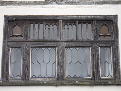 Window with Bells, Old Bell Cottage, East Meon