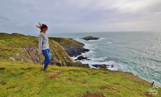 St Davids Oriel y Parc to Coast Path - Pembrokeshire Coast National Park