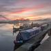 Beeston Marina Sunset