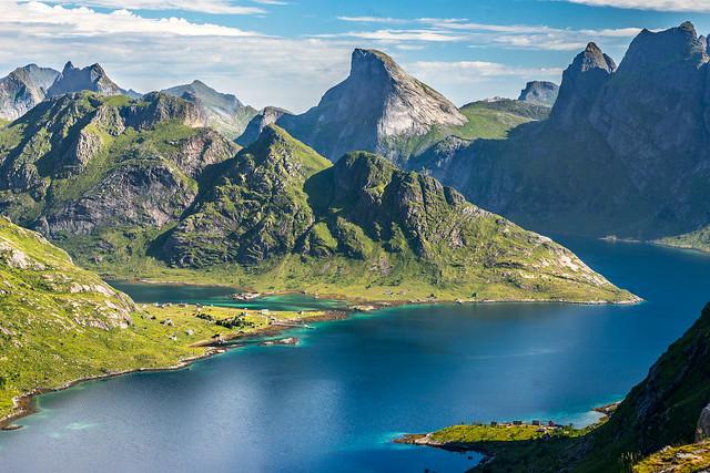 Le fjord de Forsfjorden, Sony SLT-A99V, Sigma 70mm F2.8 EX DG Macro