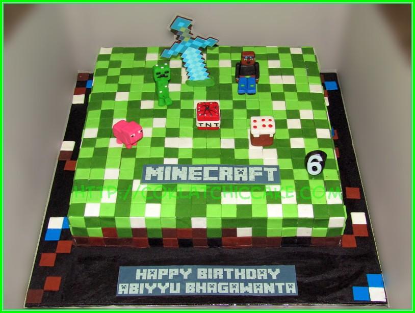 Cake Minecraft ABIYYU