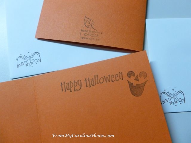 Halloween cards ~ FromMyCarolinaHome.com