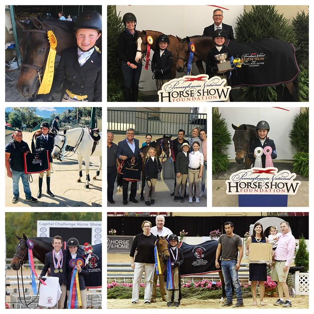 Winning Ways at Capital Challenge and Pennsylvania National Horse Shows