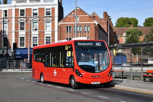 Go-Ahead London: WS83 | SK17HKC || 485: Hammersmith Bus Station - Wandsworth