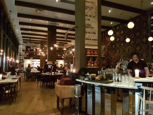 Patria restaurant interior