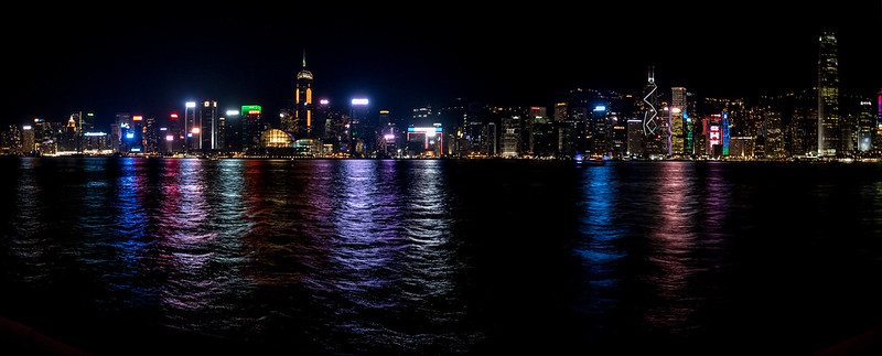 Victoria Harbour from Tsim Sha Tsui