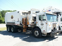Borough of Berlin, NJ 2014 Peterbilt 320 LaBrie automated trash collector - truck No. 26