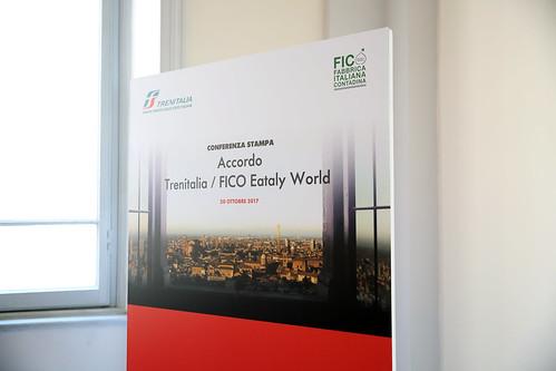Presentazione accordo Trenitalia- FICO Eataly World