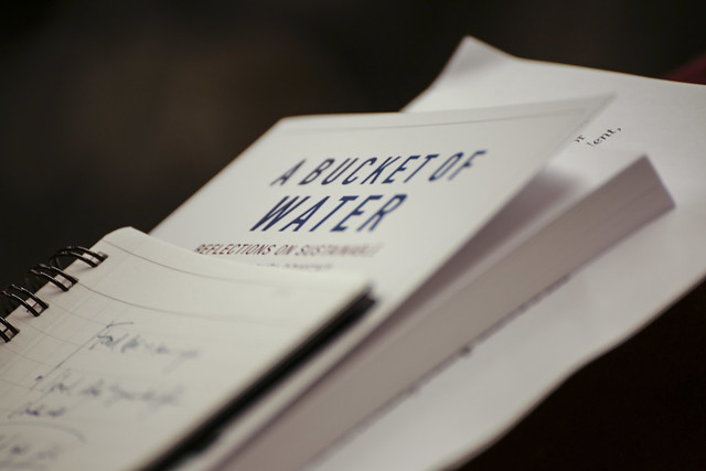 Book Launch: A Bucket of water
