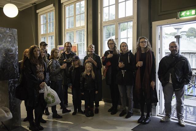 GIBCA 2017 invigning Konstepidemin/Kastellgatan